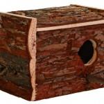 Šifra: 5632 Kucica za ptice, drvena, 21x12.5x13cm