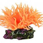 Šifra: 8888 Koral na kamenu, narandzasti, 8 cm