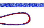 Šifra: 17631 Softline reflekt.povodac, 1m/25 mm,crni