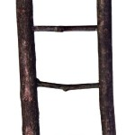Šifra: 5879 Merdevine od drveta, 5 precki, 26 cm