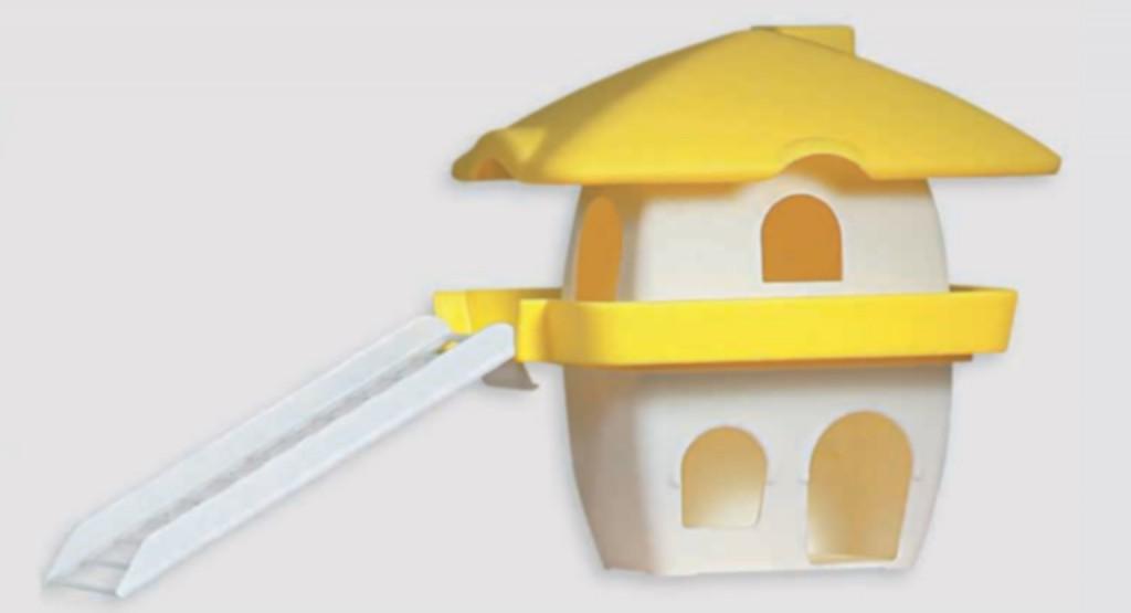 Šifra: N007 Kucica za hrcka sa stepenicama residence 195x190x190mm