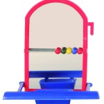 Šifra: 5225 Ogledalo sa mestom za stajanje i racunaljkom, 8.5 cm