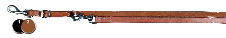 Šifra: 19131 Povodac master,radni,ukrasni step,koza, 2m/22mm,crni