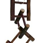 Šifra: 5884 Igracka za ptice od drveta, 6 precki, 26 cm
