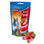 Šifra: 60334 Mini drops za glodare, jagoda, 75 g