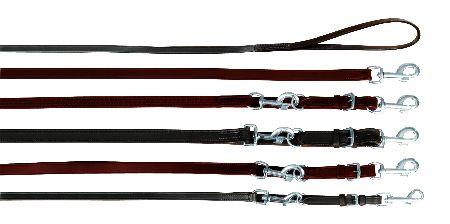 Šifra: 18051 Povodac od meke koze 2 m/22 mm, crni