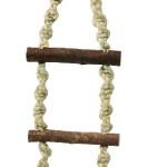 Šifra: 5186 Pletene merdevine, male, 3 precke, 40 cm
